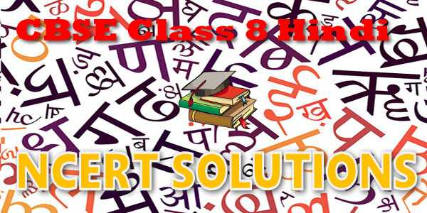 ncert solution of class 8 hindi