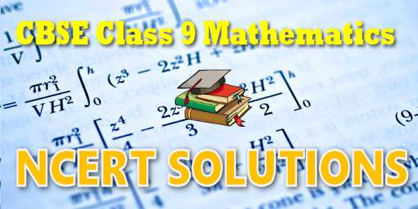 solution of ncert maths class 9