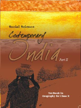NCERT solutions for Class 10 Social Science Geography Agriculture