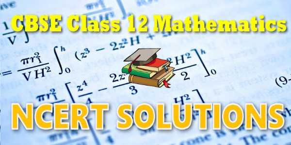 NCERT Solutions class 12 Maths Matrices