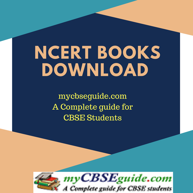 NCERT Books Download as PDF for class 5 to 12 | myCBSEguide